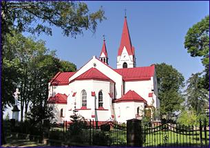 Kościół  pw. Matki Boskiej Królowej Różańca Świętego