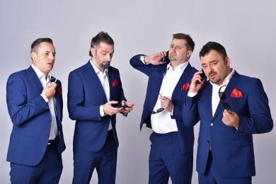 Kabaret Młodych Panów wystąpi w Łaziskach!