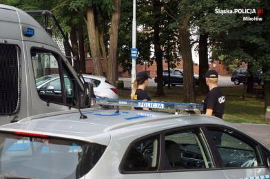 Adepci wiedzy policyjnej w Mikołowie