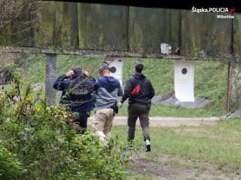 Policjanci szkolili swoje umiejętności strzeleckie