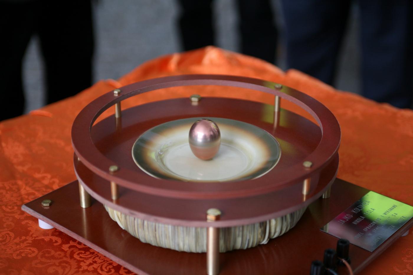 Elektrotechniczne Jajko Kolumba w Muzeum Energetyki