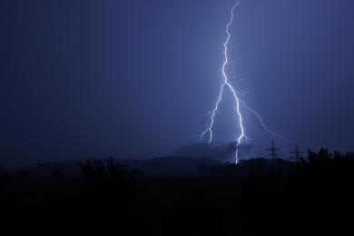 Ostrzeżenie przed burzami z gradem!