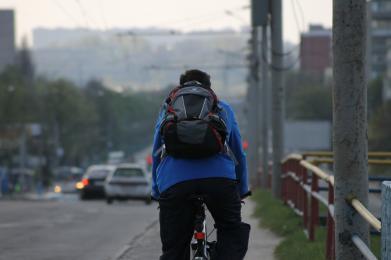 Bezpieczeństwo rowerzysty na drodze
