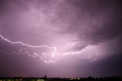 Ostrzeżenie meteo - burze z gradem!