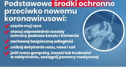 Bieżące informacje na temat koronawirusa