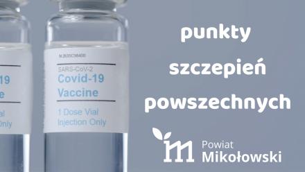 Ruszają zapisy na masowe szczepienia przeciw COVID-19