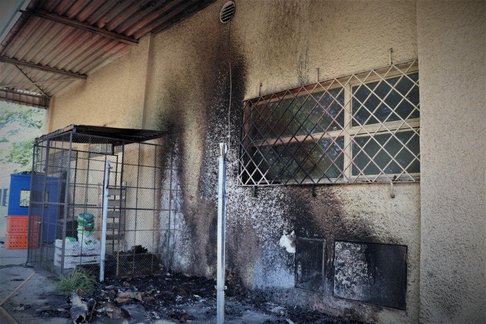 29-latek podejrzany o podpalenie sklepu