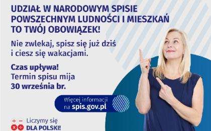 Do 30 września 2021 trwa obowiązkowy Narodowy Spis Powszechny Ludności i Mieszkań