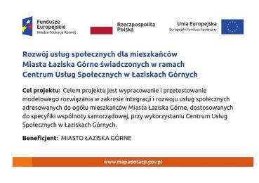 Ankieta dotycząca usług społecznych w Łaziskach Górnych