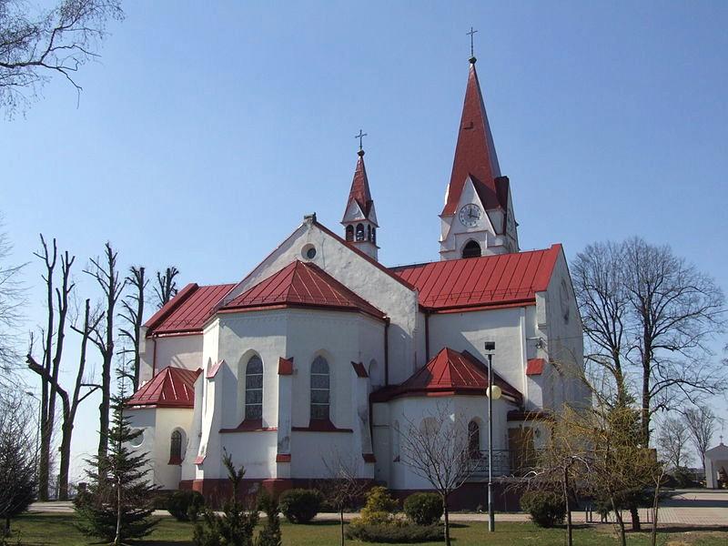 Łaziska Górne - Kościół pw. Matki Bożej Królowej Różańca Świętego